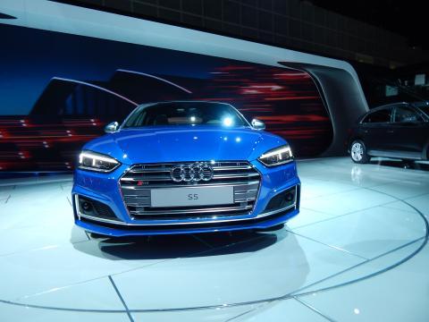 2018 Audi S5 Sportback front grille